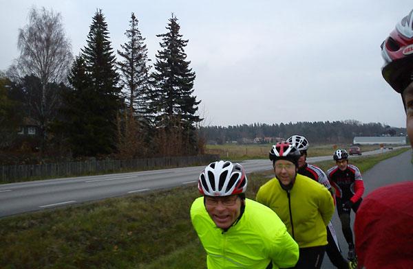 Svartsjölandet 2011-11-13. Mobilkamerafoto: Ulf Haase.