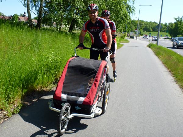 Ekerö Barnvagn Måns Berit. Foto:Stefan Lindblad.