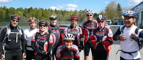 Grupp Nynäsvägen 2012 05 13. Foto: Stefan Lindblad.