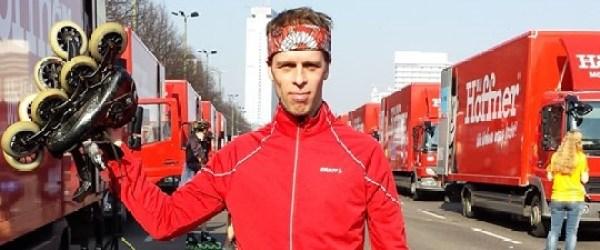 Berlin halvmaraton Björn Drakenward