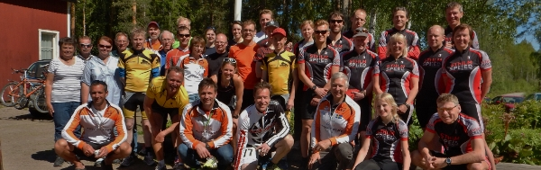 Gruppbild Dalarna Bont Inline Challenge