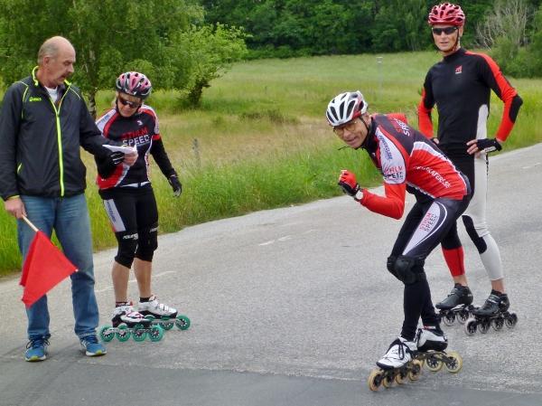 Knock Out Sprint Ekhagen Klaus Janne Mimmi Johan