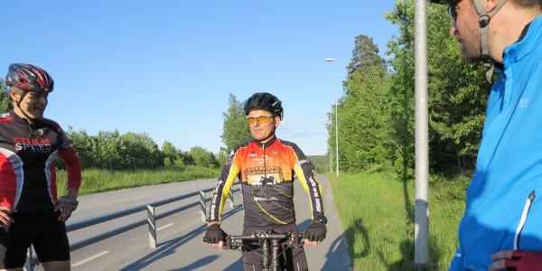 Sven som cyklande funktionär