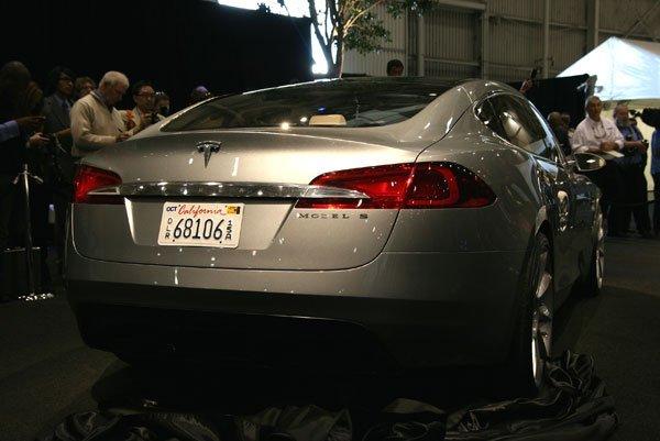 Tesla Model S Concept Debuts Speedsportlife
