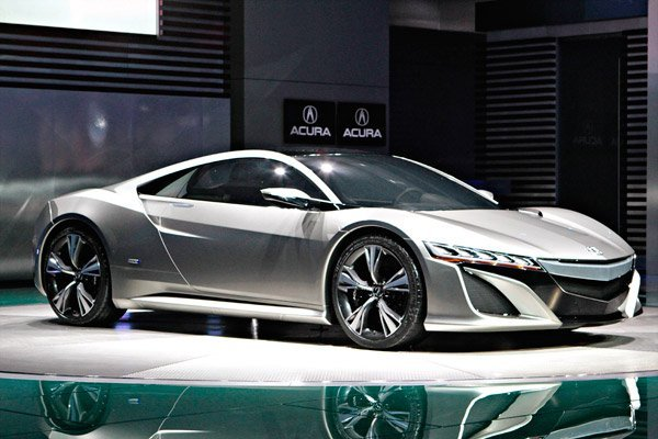 2012 Naias Acura Nsx Concept Photo Gallery Speedsportlife