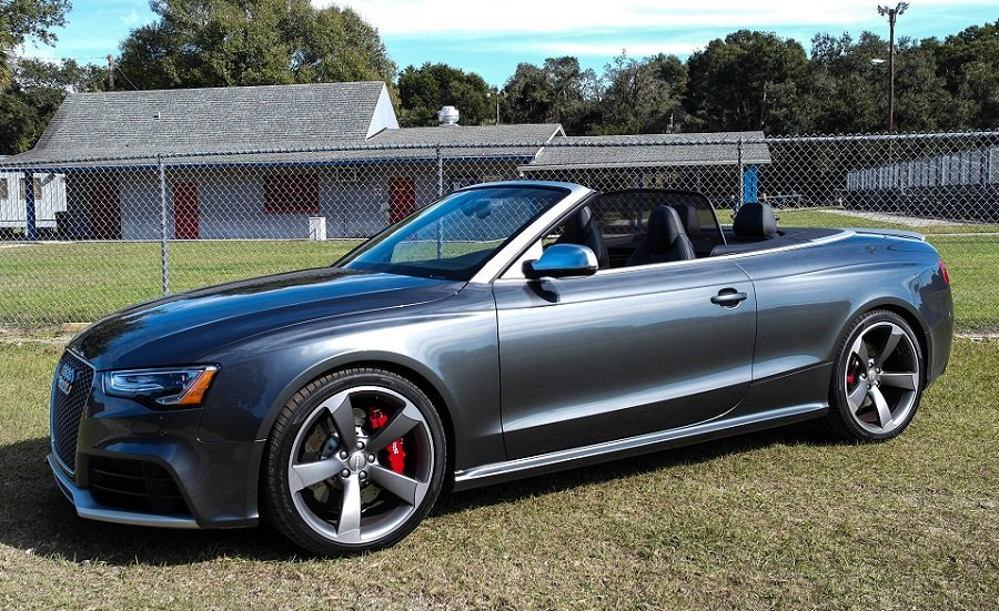Driven: 2015 Audi RS5 Cabriolet - Speed:Sport:Life
