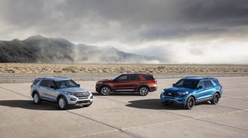 Explorer, Explorer Hybrid and Explorer ST