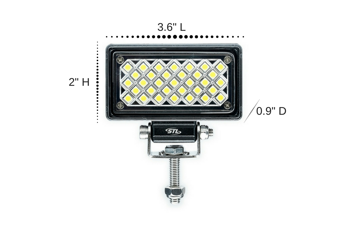 Carbine X Mini 3 5 Rectangular Led Floodlight