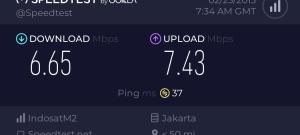 Tes Kecepatan Indosat Super Wifi