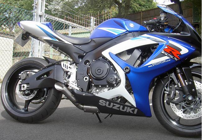 racefit super slash exhaust suzuki gsxr600 750 k6 k7