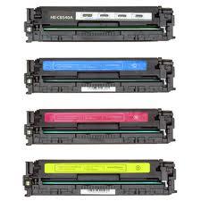 HP LaserJet CP1210, CP1215, CP1510 4-PACK Toners (KCYM) $35 each
