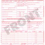 CMS 1500 claim form example