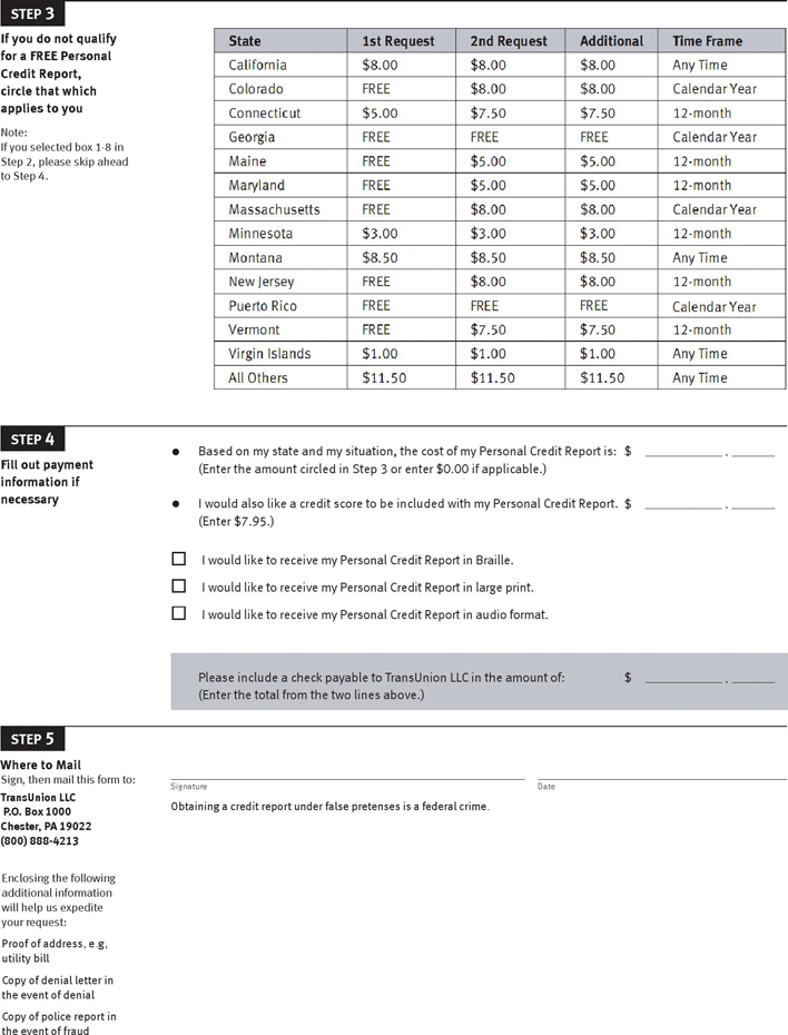 The way you handle money and manage debt provides clues to lenders about your spending habits and ability to pay what you owe them. Free Annual Credit Report Request Template Pdf 648kb 2 Page S Page 2