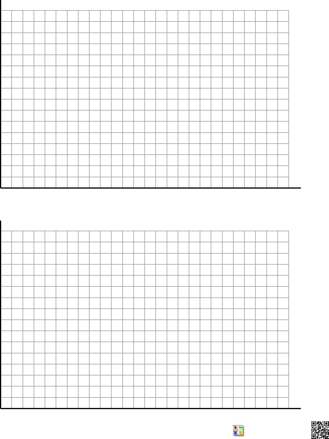 Free Four Quadrant 1 Per Page