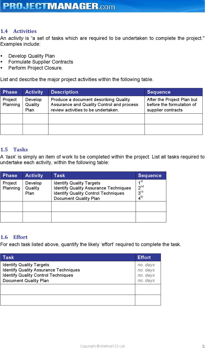 Includes a worksheet for entering data which automatically updates the roadmap. Free Project Planning Template Doc 157kb 9 Page S Page 6