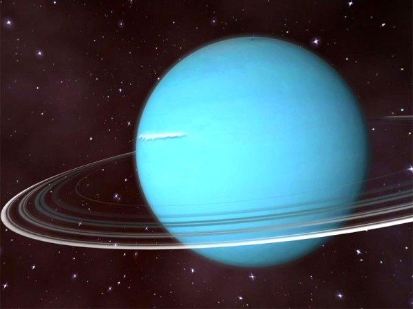 De planeet Uranus