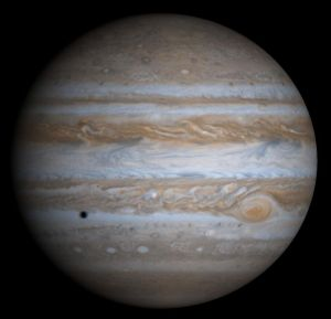 De planeet Jupiter