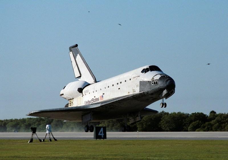 De space shuttle Columbia