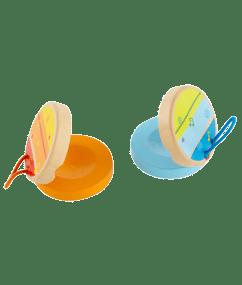 Hape Kleurrijke castagnetten
