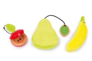 muziekinstrument houten fruit