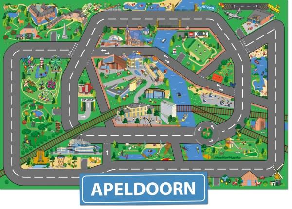 Speelkleed Apeldoorn, speelmat Apeldoorn, speeltapijt Apeldoorn, autokleed Apeldoorn, kinderen Apeldoorn, speelgoed Apeldoorn