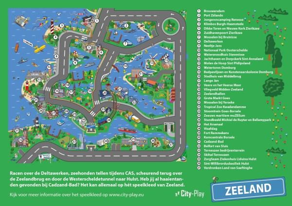 Plattegrond Speelkleed Zeeland