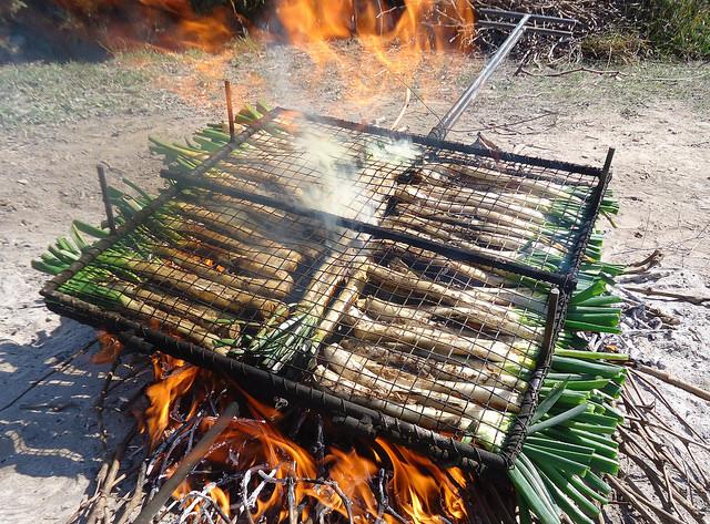 Zubereitung calcots