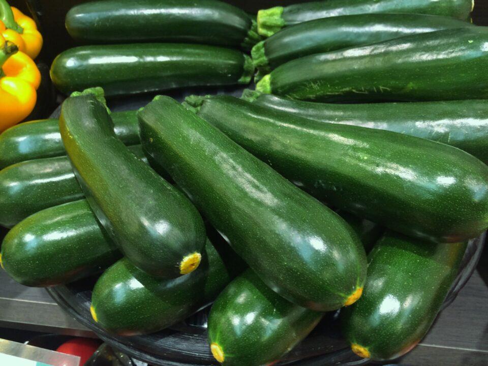 grüner Zucchini