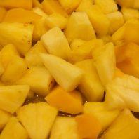 Ananasstückchen