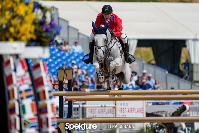 Earchphoto - McLain Ward and Clinta at the 2018 World Equestrian Games in Tryon NC