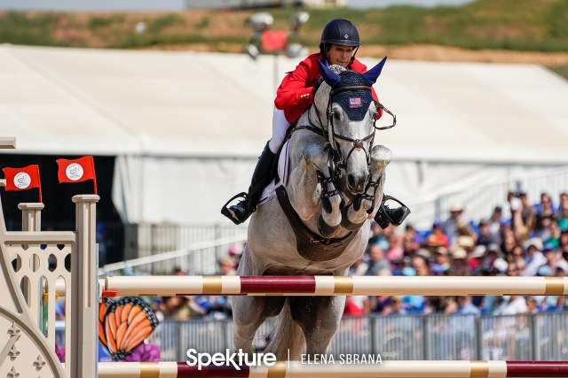 Earchphoto - Laura Kraut and Zeremonie at the 2018 World Equestrian Games in Tryon NC