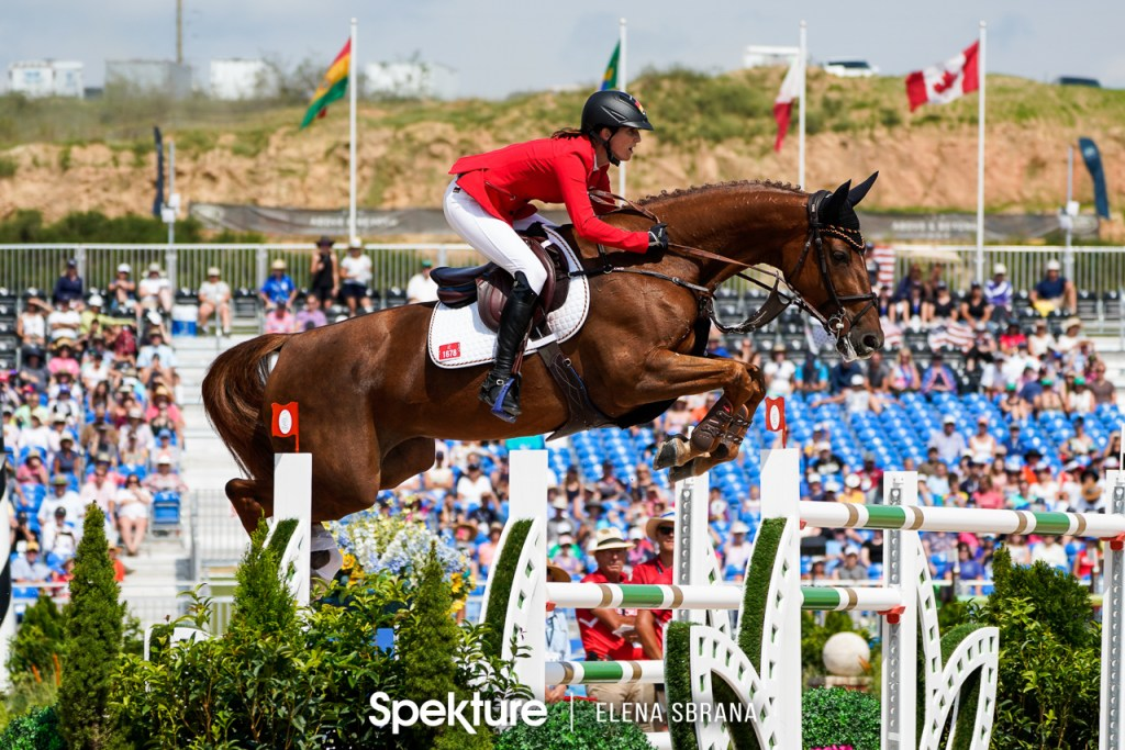 Earchphoto - Simone Blum and DSP Alice at the 2018 World Equestrian Games in Tryon NC