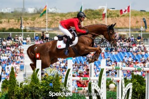 Show Jumping Records at the World Equestrian Games: first US team gold and first woman world champion since 1986