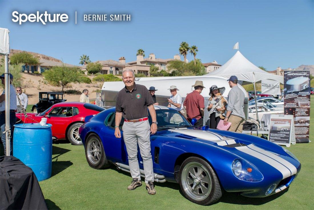 Automotive legend Peter Brock