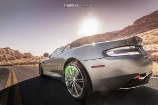 Rachel File | Spekture | Aston Martin DB9 Desert Shoot