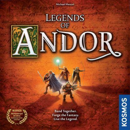 Legends of Andor Box art