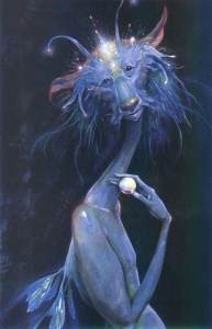 Ilbe the Retriever. (Photo credit: Brian Froud.)