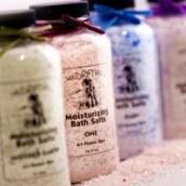Spearmint, Bergamot, Coriander and Basil Bath Salt Recipe
