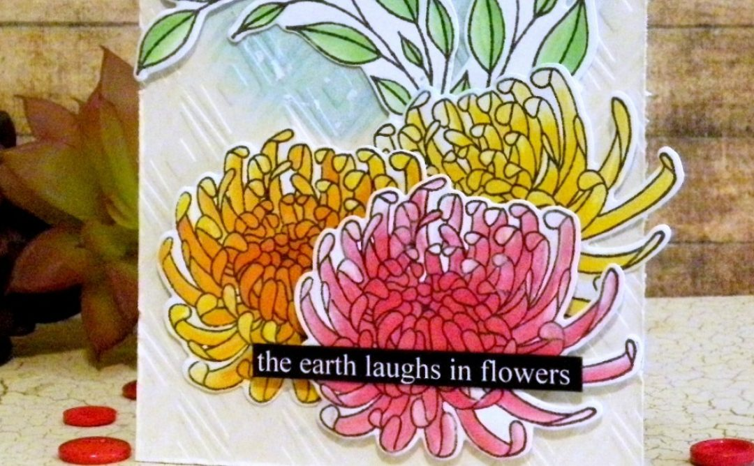 The Earth Laughs in Chrysanthemum Flowers!