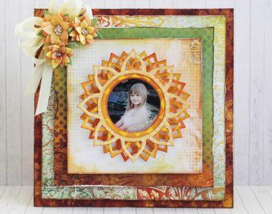 Sunflower Shaker Card