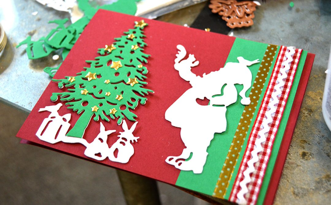 Santa Christmas Card Party with Sharyn Sowell