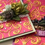 Fleur de France Cards with Nested Etched Dies