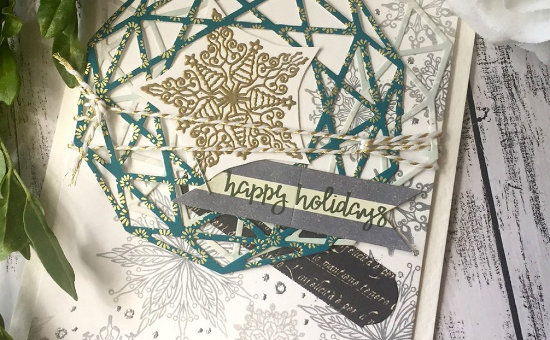 Inspirational Series of Holiday Cards + Tags with Stephanie Low Designs