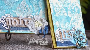 Easy Bohemian Notepads by Donna Salazar for Spellbinders
