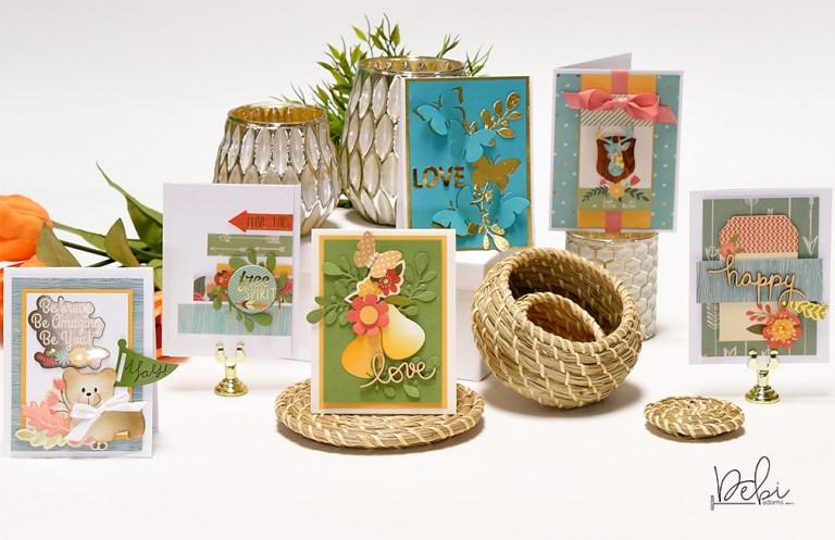 Card Making Challenge! Take Three - Debi Adams