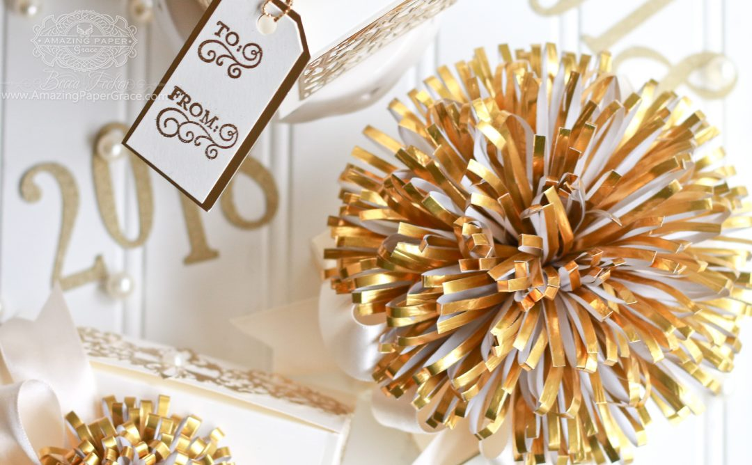 Luxe Gifts with Easy to Make Pom Pom Embellishment