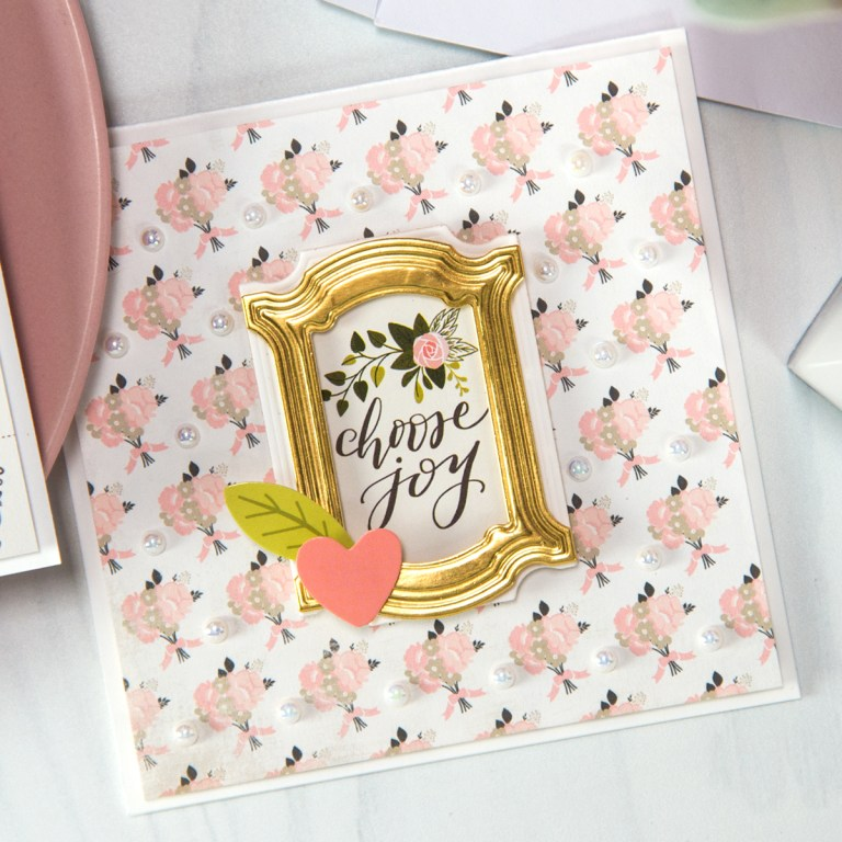 Spellbinders March 2018 Small Die of the Month is Here!