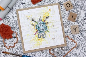 Handmade Collection by Stephanie Low - Inspiration   Handcrafted Cards with Anna for Spellbinders using SDS-071 Handcrafted, SDS-074 Kitchen #spellbinders #cardmaking #stamping