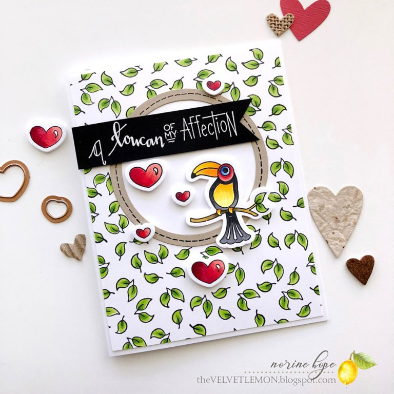 Perfect Match Collection by Debi Adams- Inspiration Friends of a Feather with Norine for Spellbinders using: S4-116 - Standard Circles Small SDS-126 - Friends of a Feathers #spellbinders #neverstopmaking #cardmaking #diecutting #handmadecard