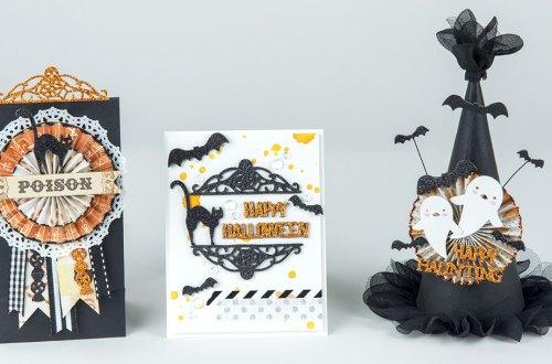 Spellbinders September Small Die of the Month is Here! #neverstopmaking #diecutting #handmade #papercrafting #halloween